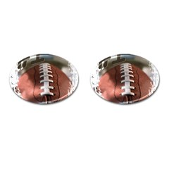 Football Cufflinks (oval) by uniquedesignsbycassie