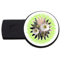 20131123 3 4gb Usb Flash Drive (round) by SomethingLouisaMade