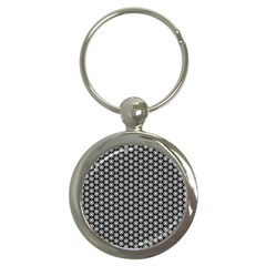 Groovy Circles Key Chain (round) by StuffOrSomething