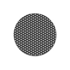 Groovy Circles Magnet 3  (round) by StuffOrSomething