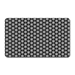 Groovy Circles Magnet (rectangular) by StuffOrSomething