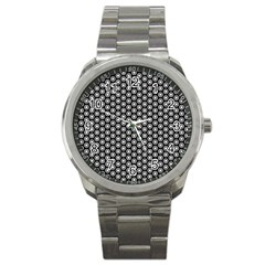 Groovy Circles Sport Metal Watch by StuffOrSomething