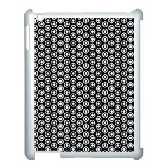 Groovy Circles Apple iPad 3/4 Case (White) by StuffOrSomething