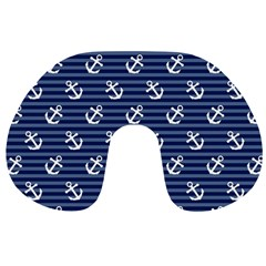 Boat Anchors Travel Neck Pillow by StuffOrSomething