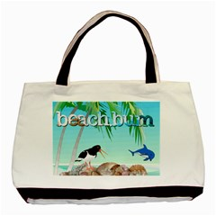 Beach Bum Tote Bag By Joy Johns   Basic Tote Bag (two Sides)   Sk16bxea9k8g   Www Artscow Com Back