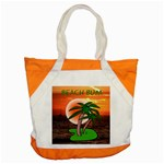 BeachBum tote bag - Accent Tote Bag
