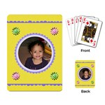 yellow cards - Playing Cards Single Design
