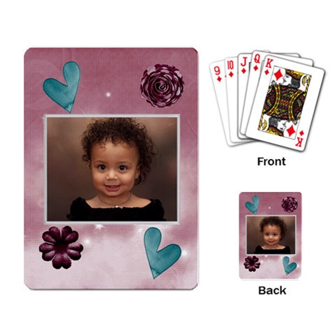 Burgandy Cards By Angeye   Playing Cards Single Design   Eeupirbenm98   Www Artscow Com Back