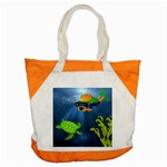 Under the Sea beach bag - Accent Tote Bag