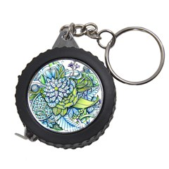 Peaceful Flower Garden Measuring Tape by Zandiepants