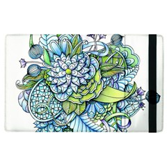 Peaceful Flower Garden Apple Ipad 3/4 Flip Case by Zandiepants