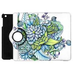 Peaceful Flower Garden Apple Ipad Mini Flip 360 Case by Zandiepants