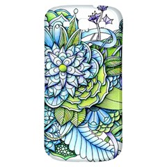 Peaceful Flower Garden Samsung Galaxy S3 S Iii Classic Hardshell Back Case by Zandiepants
