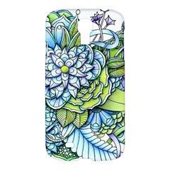 Peaceful Flower Garden Samsung Galaxy S4 I9500/i9505 Hardshell Case by Zandiepants