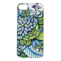 Peaceful Flower Garden Apple Iphone 5s Hardshell Case by Zandiepants