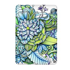 Peaceful Flower Garden Samsung Galaxy Tab 2 (10.1 ) P5100 Hardshell Case  by Zandiepants