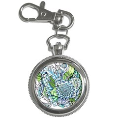 Peaceful Flower Garden 2 Key Chain Watch by Zandiepants