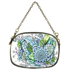 Peaceful Flower Garden 2 Chain Purse (one Side) by Zandiepants