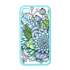 Peaceful Flower Garden 2 Apple Iphone 4 Case (color) by Zandiepants