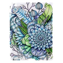 Peaceful Flower Garden 2 Apple Ipad 3/4 Hardshell Case (compatible With Smart Cover) by Zandiepants