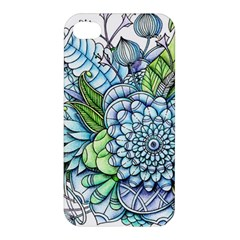 Peaceful Flower Garden 2 Apple Iphone 4/4s Premium Hardshell Case by Zandiepants