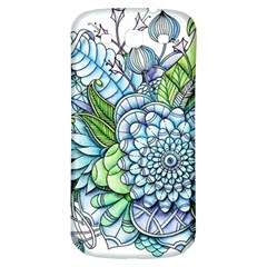 Peaceful Flower Garden 2 Samsung Galaxy S3 S Iii Classic Hardshell Back Case by Zandiepants