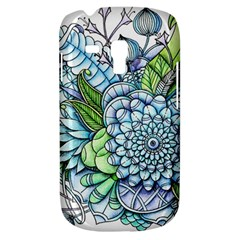 Peaceful Flower Garden 2 Samsung Galaxy S3 Mini I8190 Hardshell Case by Zandiepants