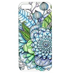 Peaceful Flower Garden 2 Apple Iphone 5 Hardshell Case With Stand by Zandiepants