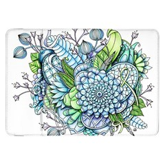 Peaceful Flower Garden 2 Samsung Galaxy Tab 8 9  P7300 Flip Case by Zandiepants