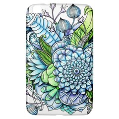 Peaceful Flower Garden 2 Samsung Galaxy Tab 3 (8 ) T3100 Hardshell Case  by Zandiepants