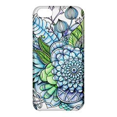 Peaceful Flower Garden 2 Apple iPhone 5C Hardshell Case by Zandiepants