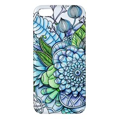 Peaceful Flower Garden 2 Iphone 5s Premium Hardshell Case by Zandiepants