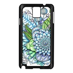 Peaceful Flower Garden 2 Samsung Galaxy Note 3 N9005 Case (black) by Zandiepants