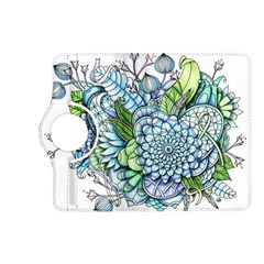Peaceful Flower Garden 2 Kindle Fire Hd 7  (2nd Gen) Flip 360 Case by Zandiepants