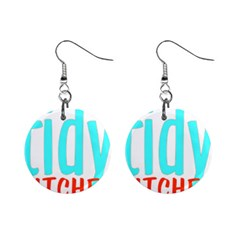 Tidy Bitcheslarge1 Fw Mini Button Earrings by tidybitches