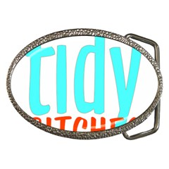 Tidy Bitcheslarge1 Fw Belt Buckle (oval)