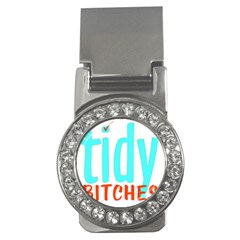 Tidy Bitcheslarge1 Fw Money Clip (cz) by tidybitches