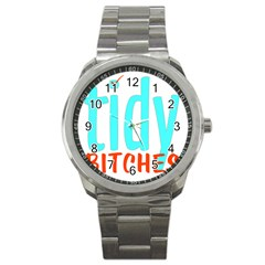Tidy Bitcheslarge1 Fw Sport Metal Watch