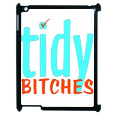 Tidy Bitcheslarge1 Fw Apple Ipad 2 Case (black) by tidybitches