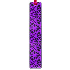 Black And Purple String   7200x7200 Large Bookmark by Khoncepts