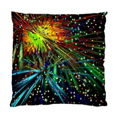 Exploding Fireworks Cushion Case (single Sided)  by StuffOrSomething