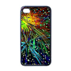 Exploding Fireworks Apple Iphone 4 Case (black) by StuffOrSomething