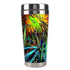 Exploding Fireworks Stainless Steel Travel Tumbler by StuffOrSomething