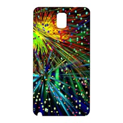 Exploding Fireworks Samsung Galaxy Note 3 N9005 Hardshell Back Case by StuffOrSomething