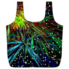 Exploding Fireworks Reusable Bag (xl) by StuffOrSomething