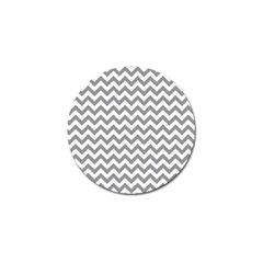 Grey And White Zigzag Golf Ball Marker 4 Pack by Zandiepants