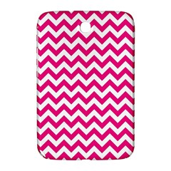 Hot Pink And White Zigzag Samsung Galaxy Note 8 0 N5100 Hardshell Case  by Zandiepants