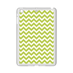 Spring Green And White Zigzag Pattern Apple Ipad Mini 2 Case (white)