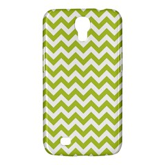 Spring Green And White Zigzag Pattern Samsung Galaxy Mega 6 3  I9200 Hardshell Case by Zandiepants