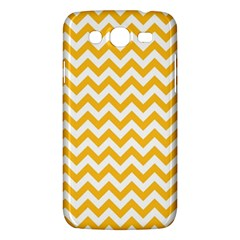 Sunny Yellow And White Zigzag Pattern Samsung Galaxy Mega 5 8 I9152 Hardshell Case  by Zandiepants